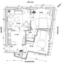 flat For sale 1094 Budapest Liliom utca 78sqm 67,9M HUF Property image: 3