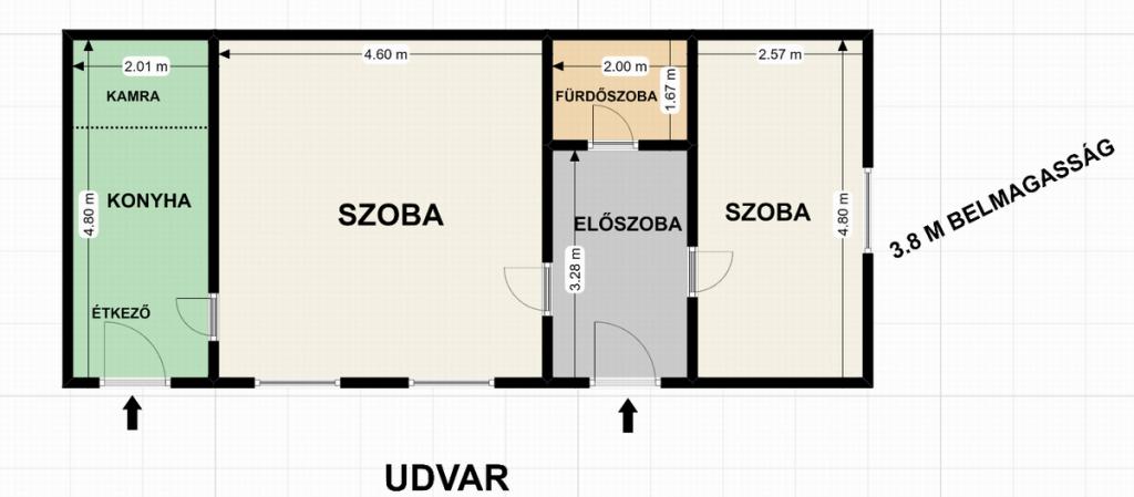 Eladó lakás 1066 Budapest Lovag utca 50m2 37,9M Ft Ingatlan kép: 1