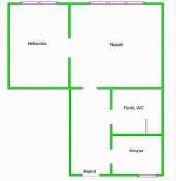 Eladó lakás 1122 Budapest Városmajor utca 61m2 51,5M Ft Ingatlan kép: 3