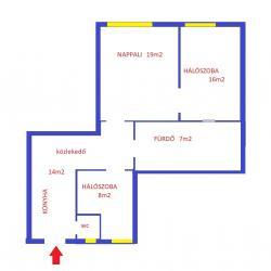 Eladó lakás 1135 Budapest 65m2 39,5M Ft Ingatlan kép: 2