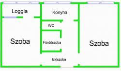 Eladó lakás 1035 Budapest Kerék utca 51m2 27,8M Ft Ingatlan kép: 14