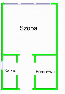 flat For sale 1097 Budapest Vaskapu utca 30sqm 24,9M HUF Property image: 13