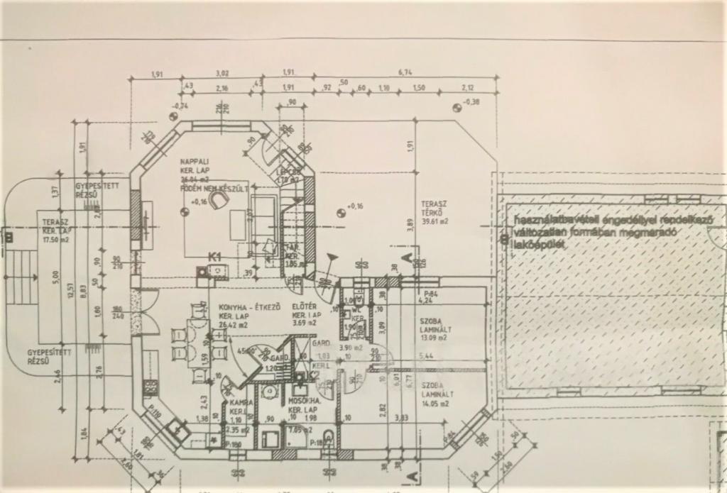 Eladó ház 2071 Páty Kölcsey Ferenc u. 177m2 22,5M Ft Ingatlan kép: 1