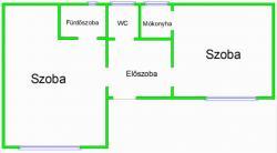 Eladó lakás 1066 Budapest Dessewffy utca 40m2 33,9M Ft Ingatlan kép: 10