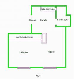 Kiadó lakás 1136 Budapest Balzac utca 30m2 120000 Ft/hó Ingatlan kép: 3