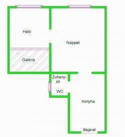 Eladó lakás 1102 Budapest Liget utca 38m2 17,9M Ft Ingatlan kép: 1
