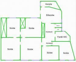 flat For sale 1053 Budapest Magyar utca 183sqm 137M HUF Property image: 25