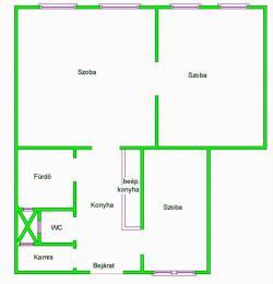 flat For sale 1089 Budapest Orczy út 68sqm 32,9M HUF Property image: 11