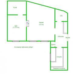flat For sale 1027 Budapest Frankel Leó út 45sqm 39,9M HUF Property image: 7