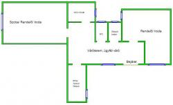 office For rent 1077 Budapest Király utca 67sqm 150000 HUF/month Property image: 3