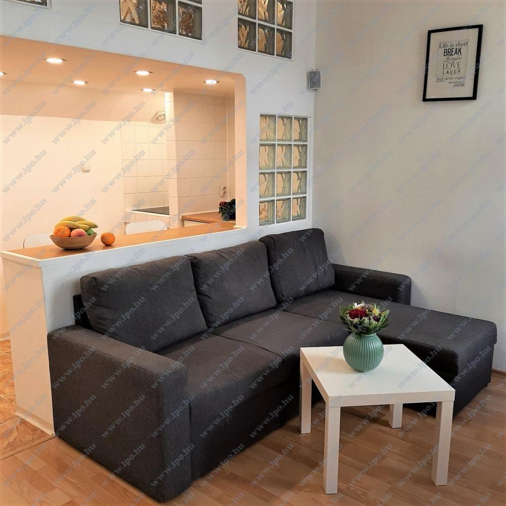 flat For rent 1063 Budapest Bajnok utca 42sqm 140000 HUF/month Property image: 1