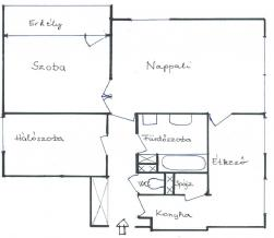 flat For rent 1125 Budapest Rőzse utca 64sqm 150000 HUF/month Property image: 3