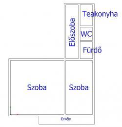 flat For sale 1053 Budapest Egyetem tér 72sqm 83,8M HUF Property image: 4