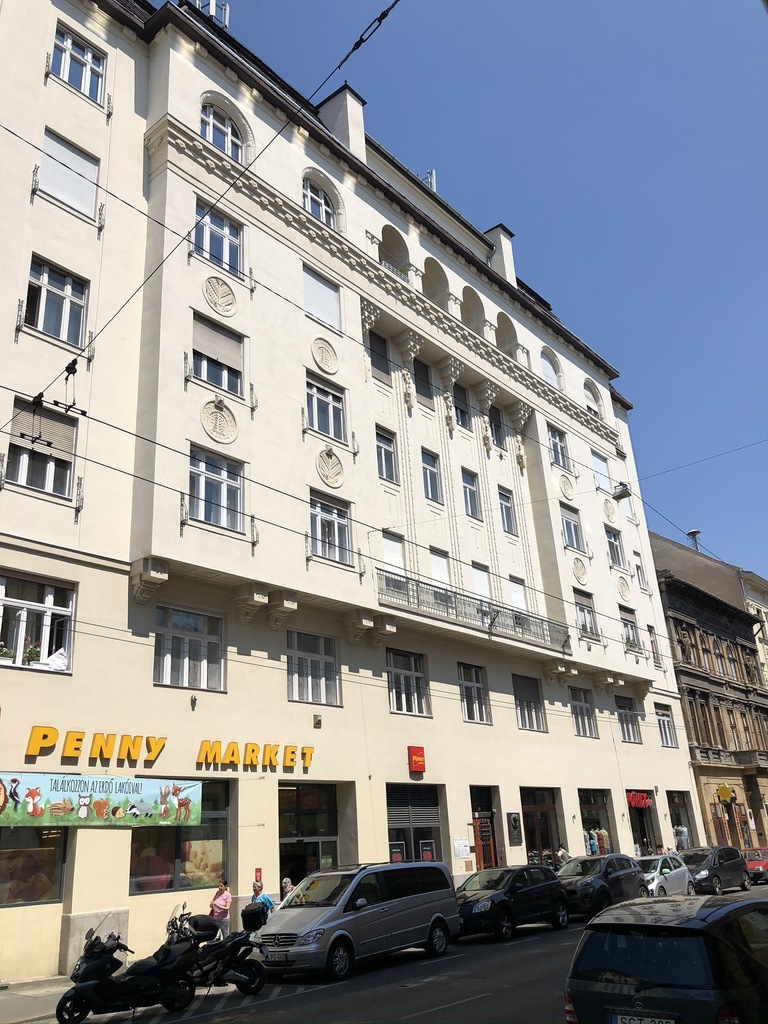 flat For sale 1075 Budapest Király utca 74sqm 46,9M HUF Property image: 1