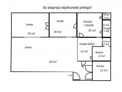 flat For sale 2750 Nagykőrös Magyar utca 90sqm 21M HUF Property image: 13