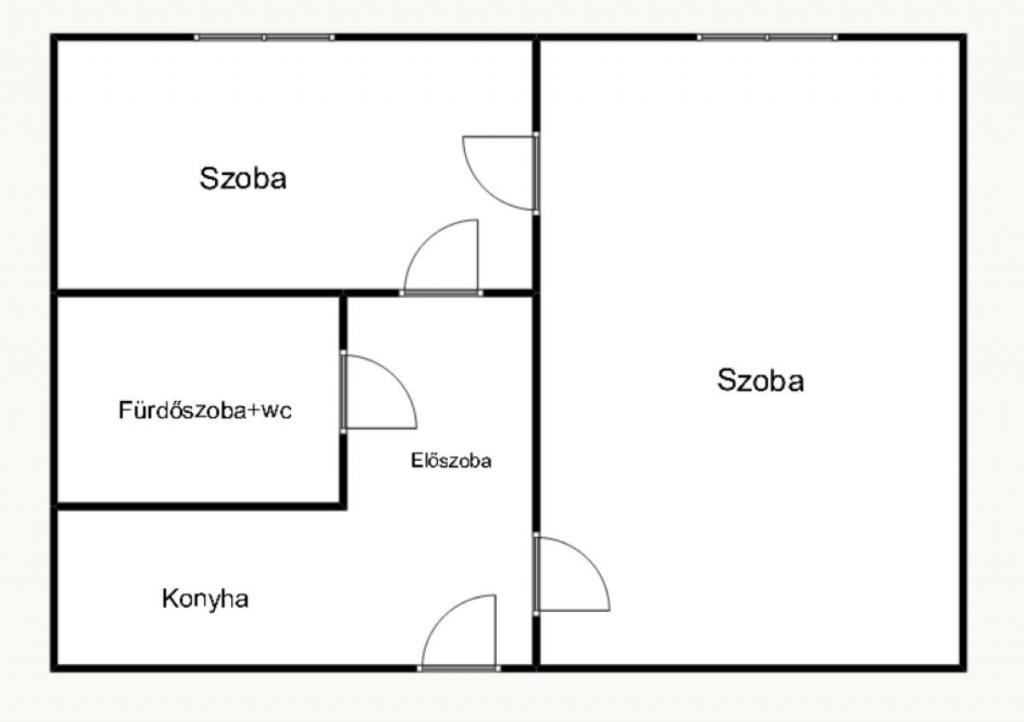 flat For sale 1156 Budapest Páskomliget utca 35sqm 24,9M HUF Property image: 1