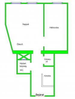 flat For sale 1134 Budapest Szabolcs utca 39sqm 22,9M HUF Property image: 5