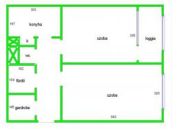 flat For rent 1032 Budapest Szőlő utca 49sqm 135000 HUF/month Property image: 5