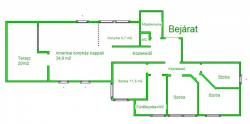 flat For sale 1039 Budapest Gyula utca 123sqm 147M HUF Property image: 6