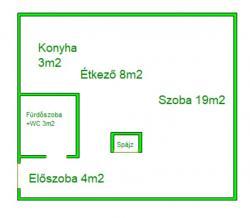 flat For sale 1098 Budapest Toronyház utca 40sqm 34M HUF Property image: 7